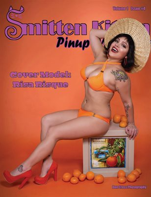 Smitten Kitten Pinup Magazine Cover 4 Risa Risque April 2020 Issue