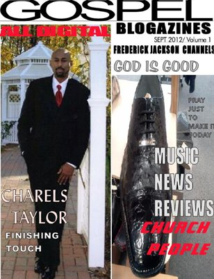 FREDERICK JACKSON BLOGAZINES GOSPEL 1