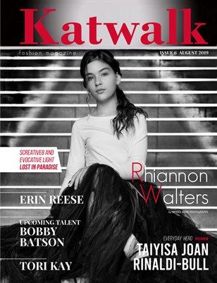 Katwalk Fashion Magazine. Issue 6, August 2019