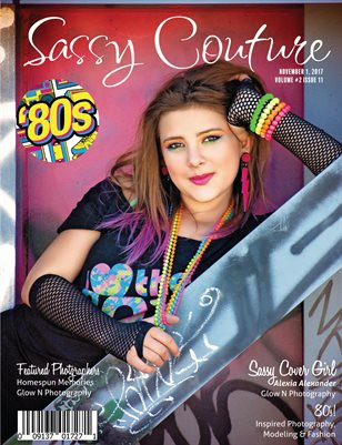 Sassy Couture Magazine | November 2017 | Volume 2 Issue 11 | 80's Issue