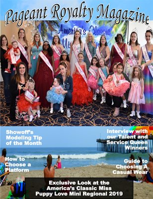 Pageant Royalty Magazine By Showoffs March Issue