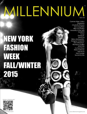 MILLENNIUM MAGAZINE | NEW YORK FASHION WEEK | FALL/WINTER 2015