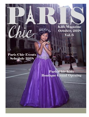 Paris Chic Kids Magazine vol. 5 .