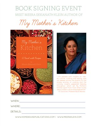 My Mother's Kitchen | Event Poster