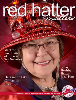 Red Hatter Matters: The 2017 Fun & Friendship issue