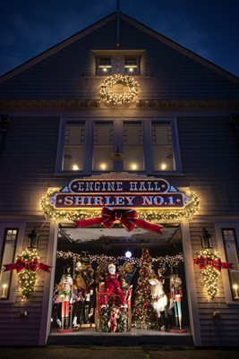 Christmas in Shirley Mass.