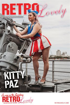 Kitty Paz Cover Poster