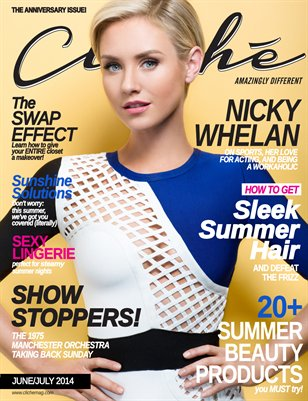 Cliché Magazine - June/July 2014 (Nicky Whelan Cover)