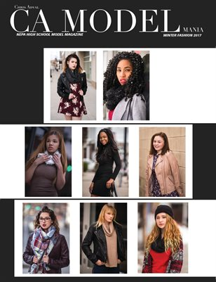 CA Model Mania: NEPA High School Model Magazine - Winter Fashion 2017