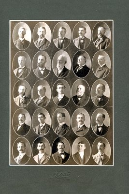 1900 Board of Elders, of Jackson, Tennessee Church