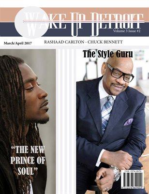 Wake Up Detroit Magazine Rashaad Carlton and Chuck Bennett
