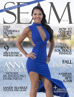 SEAM Magazine Issue #1 - Fall 2018 - Cover: Anna Carranza
