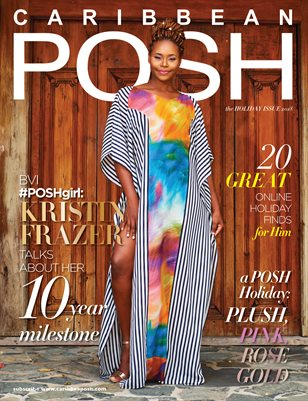The Holiday Issue 2018: featuring POSHgirl Kristin Frazer