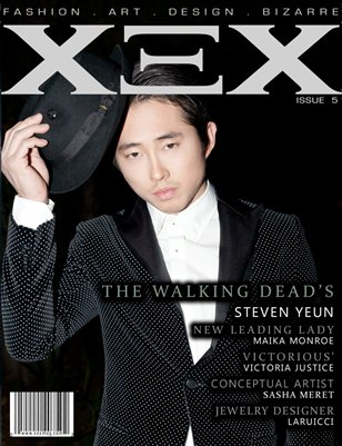 Issue 5: Steven Yeun Cover