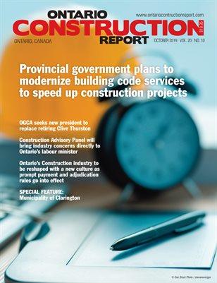 Ontario Construction Report (October 2019)