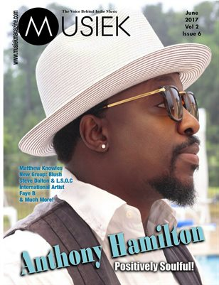 Musiek: June issue featuring Anthony Hamilton