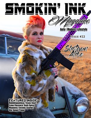 Smokin' Ink Magazine Issue #22 - Shotgun Alice