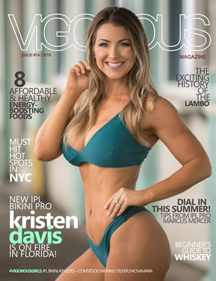 Vigorous Magazine Issue #14 - 2019 - Cover: Kristen Davis