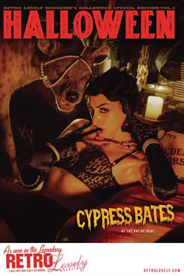 Halloween 2021 Vol.2 – Cypress Bates Cover Poster