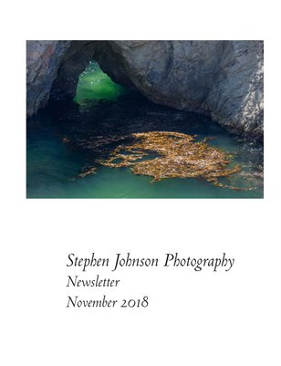 Stephen Johnson Photo News November 2018