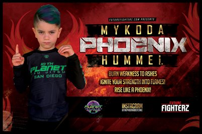 Mykoda Hummel Burn Weakness Poster