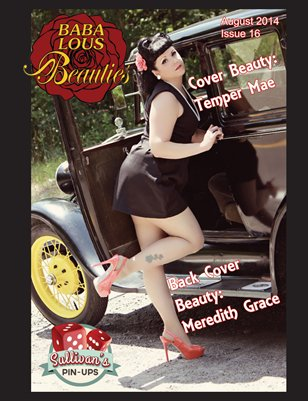 Baba Lous Beauties- Anything Pin Up Issue 16- August 2014