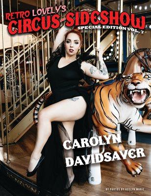 Circus & Sideshow 2021 Vol.7 – Carolyn Davidsaver Cover