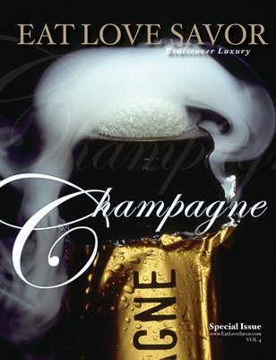 EAT LOVE SAVOR Champagne Issue