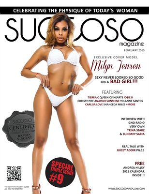 Succoso Magazine Triple Issue #9 ft Cover Model Milyn Jensen