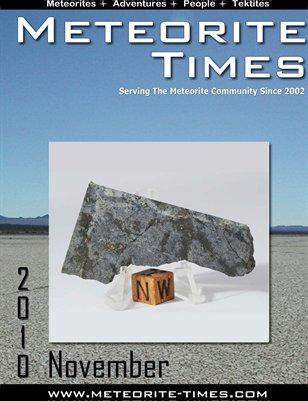 Meteorite Times Magazine - November 2010