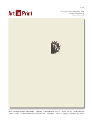 Art in Print, Volume 5/Issue 5