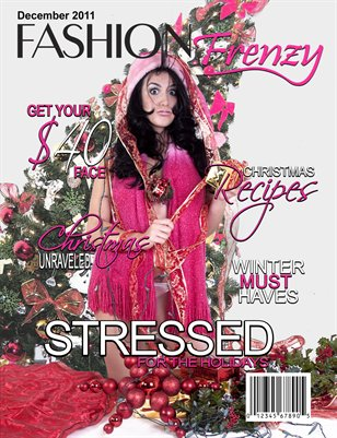 Fashion Frenzy Magazine  - Dec 2011 Issue
