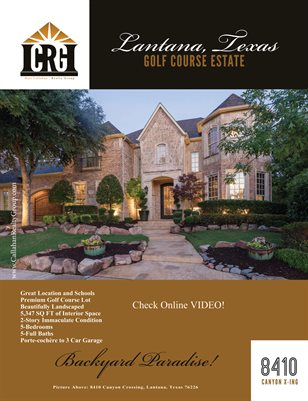 8410 Canyon Crossing, Lantana, TX