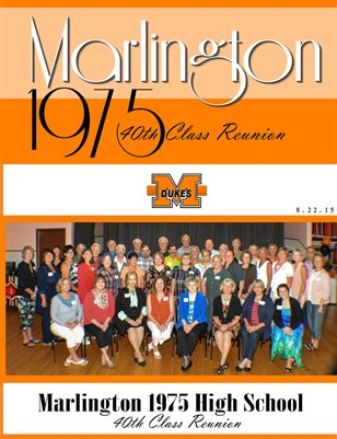 Marlington Class of 1975 Reunion