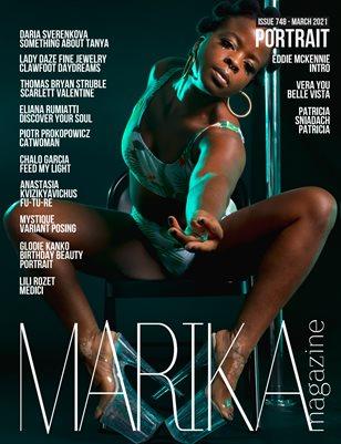 MARIKA MAGAZINE PORTRAIT (ISSUE 748 - MARCH)