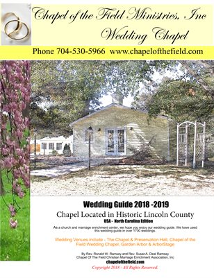 Chapel Of The Field Wedding Guide 2019