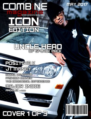 COMBiNE Magazine ICON Issue (Cover 1)