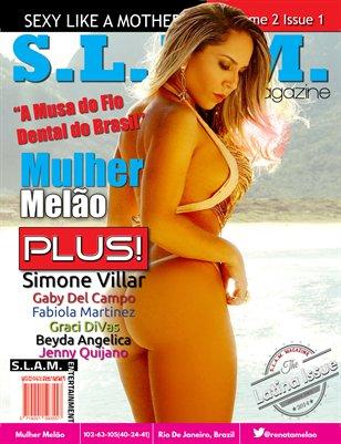 Vol 2 Issue 1 - Mulher Melão Cover