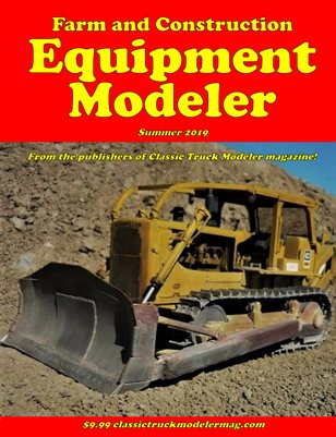 Farm & Construction Equipment Modeler #1