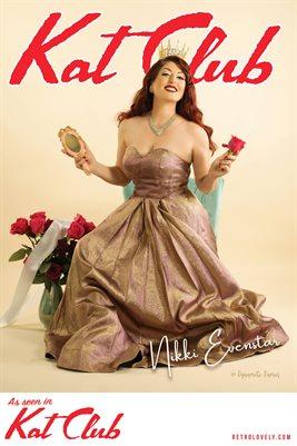 Kat Club No.49 – Nikki Evenstar Cover Poster