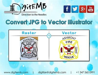 Convert JPG to Vector Illustrator