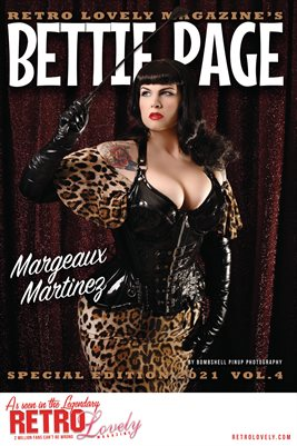 Bettie Page 2021 VOL.4 - Margeaux Martinez Cover Poster
