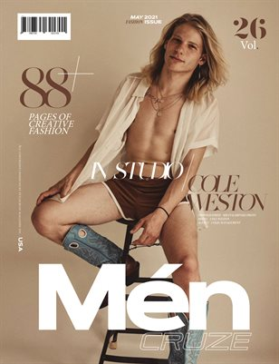 MAY 2021 Issue (Vol: 26) | MEN CRUZE Magazine