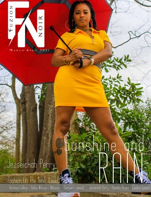 Fuzion Noir Jezseickah Perry Spring Fashion March/April 2021