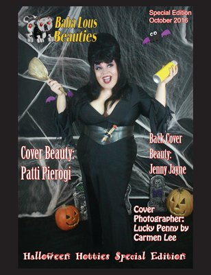 Baba Lous Beauties-Halloween Hotties Special Edition-COVER TWO: October 2016