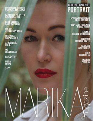 MARIKA MAGAZINE PORTRAIT (ISSUE 853 - APRIL)