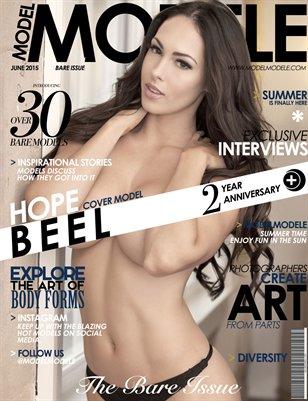 Model Modele Presents BARE (Hope Beel)