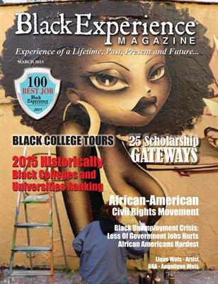 March 2015 Black Experience Magazine