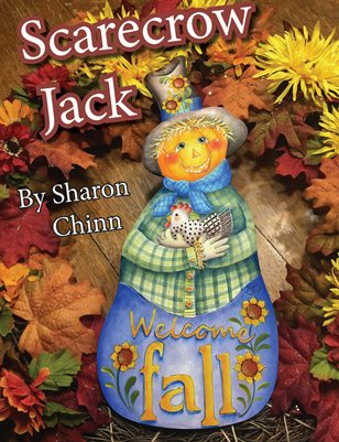 Scarecrow Jack Painting Pattern Tutorial by Sharon Chinn SC18006