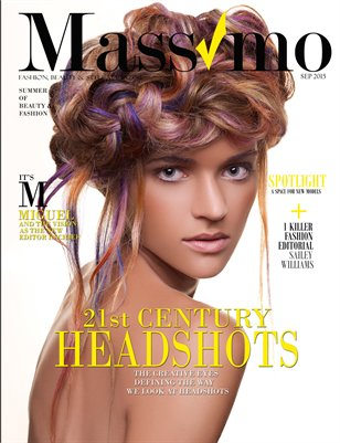Massimo Magazine - September IV, Vol 1 - The Headshot Edition